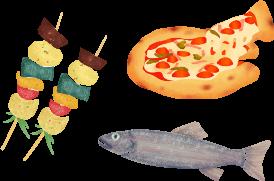 foodのイラスト