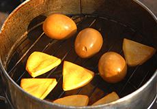 ローストチキン調理写真